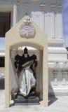Temple hindou de Malibu - droite de statue Photo libre de droits