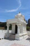 Temple hindou de Malibu - structure faisante le coin Image libre de droits