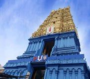Temple hindou de Simhachalam situé dans la banlieue de ville de Visakhapatnam, I images libres de droits
