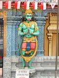 Temple hindou de Sri Krishnan, Singapour Photographie stock