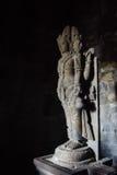 Temple hindou du 9ème siècle Prambanan sur Java Island Images libres de droits