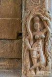Temple hindou, Hampi, état de Karnataka, Inde Image stock