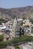 Temple hindou Mandir ? Jaipur l'Inde photo stock