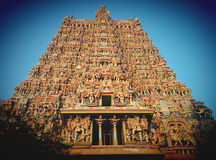 Temple hindou Meenakshi Photographie stock