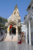 Temple of the Hindu complex Chattarpur mandir. Delhi. One of the temple of the Hindu complex Chattarpur mandir Stock Photo