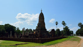 Temple of historical park Royalty Free Stock Images