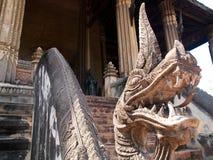 Temple historique dans le LAOTIEN Image stock