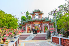 Temple at Hoi An Stock Photo
