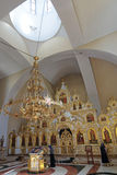 The temple of the Holy equal of the Apostles Great Prince Vladim Royalty Free Stock Images