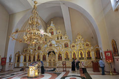 The temple of the Holy equal of the Apostles Great Prince Vladim Stock Photos