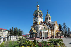 The temple of the Holy equal of the Apostles Great Prince Vladim Royalty Free Stock Photography