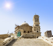 Temple of the Holy great martyr George the victorious in Cairo Royalty Free Stock Photos