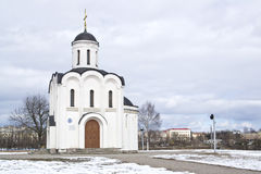 Temple of the Holy Prince Mikhail of Tver Stock Photo