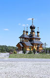 Temple of the Holy Prophet Ioan the Baptist in Dudutki Stock Photo