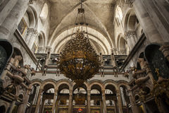 Temple of the Holy Sepulcher. Royalty Free Stock Images