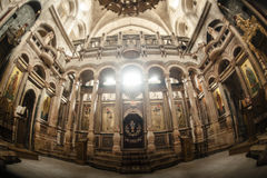 Temple of the Holy Sepulcher. Royalty Free Stock Photos