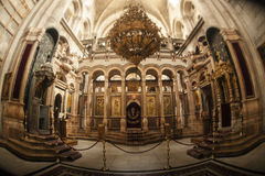 Temple of the Holy Sepulcher. Stock Photo