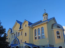 Temple of Holy Spirit - the Orthodox church in Adler, Russia Stock Image