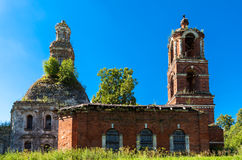 Temple of the Holy Virgin in Moscow region Royalty Free Stock Images