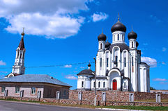 The temple in honor Reigning Mother of God in Ivantsevichi Royalty Free Stock Photo