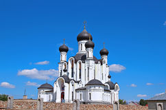 The temple in honor Reigning Mother of God in Ivantsevichi Stock Photo