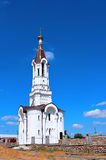 The temple in honor Reigning Mother of God in Ivantsevichi Royalty Free Stock Images