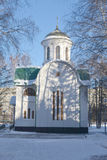 The temple in honor of sacred blessed prince Dmitr Stock Photo