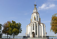 The temple in honor of St. John the Baptist Stock Photography