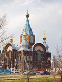 Temple in honour of the Vladimir icon of the most Holy Theotokos Stock Images