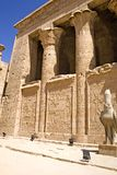 Temple of Horus at Edfu royalty free stock images
