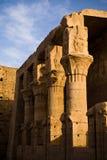 Temple of Horus in Edfu stock photo
