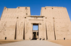 Temple of Horus, Edfu, Egypt Royalty Free Stock Image