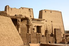 Temple of Horus in Egypt Royalty Free Stock Image