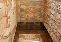 Inside the Temple of Horus Royalty Free Stock Images