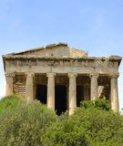 Temple of Hyphaestus Royalty Free Stock Image
