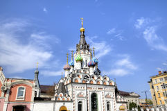 Temple of Icon of the Mother of God Soothe My Sorrows. Saratov, Russia Royalty Free Stock Image