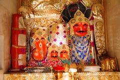Temple idol, Shree Aai Mathaji Devi, Katraj road, Pune. Maharashtra. India Royalty Free Stock Image