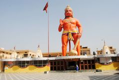 A Temple of image Hanuman. Images for India temple of god Stock Photo