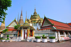 Temple In Bangkok Wat Pho, Thailand. Stock Photos