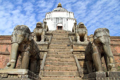 Temple In Bhaktapur Stock Photo