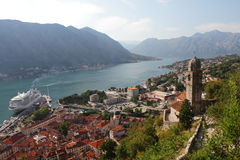 Temple In The Bay Of Kotor Royalty Free Stock Photo