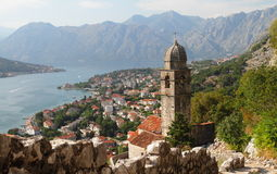 Temple In The Bay Of Kotor Stock Images