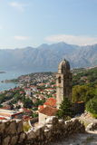 Temple In The Bay Of Kotor Stock Photography