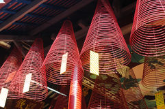 Temple Incense Stock Photos