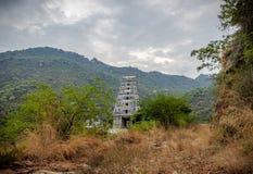 Temple India marudhamalai coimbatore view royalty free stock image