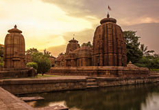 Temple indien antique Photos libres de droits