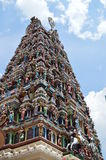 Temple indien dans le docker Malaisie de Kuala Photo stock