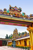 Temple indou à Kuala Lumpur Malaisie photos stock