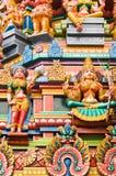 Temple indou à Kuala Lumpur Malaisie images libres de droits