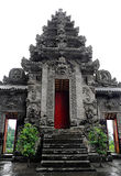 Temple indou antique, Bali Photographie stock libre de droits
